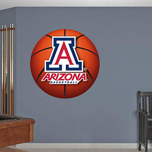 Arizona Wildcats Basketball Logo Fathead Wall Decal
